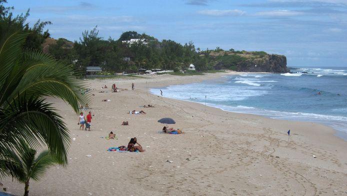 Het strand van La Reunion