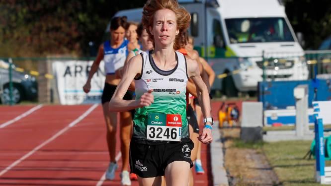 Mieke Gorissen Belgisch kampioene 5000m bij de masters