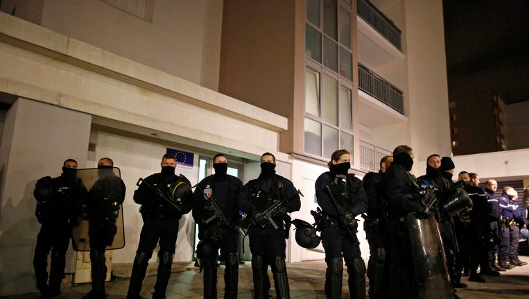 Politie-actie in Reims Beeld reuters