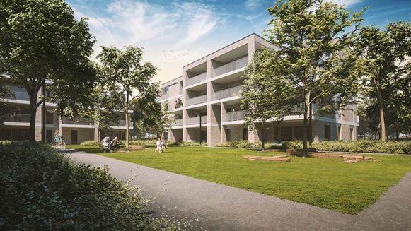 Residentie Sandweghe zal er zo uitzien.