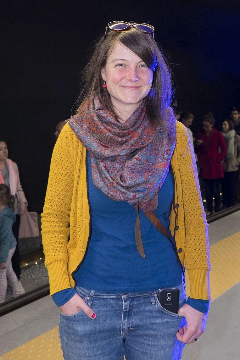 "Annelies Van Sweeveldt uit Berchem. ""Mooie ervaring met die verzorgde lichtshow."""