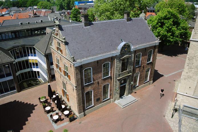 Markt 2 in Lochem, waar de VVV is gevestigd. foto archief