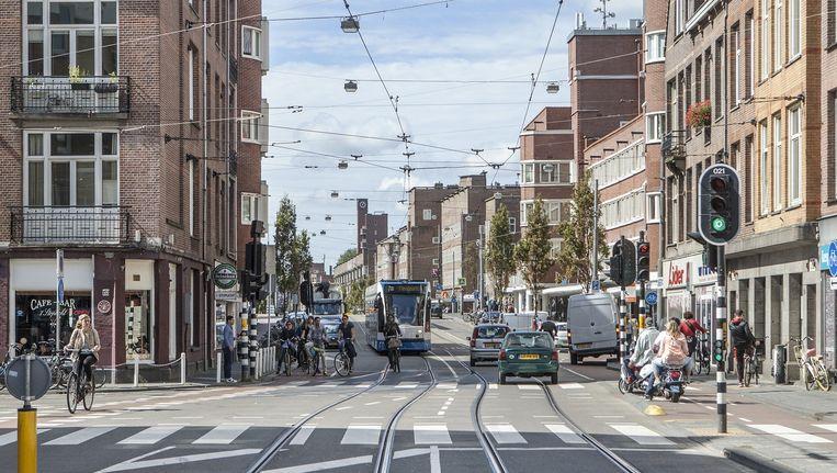 De Jan Evertsenstraat in West Beeld Floris Lok