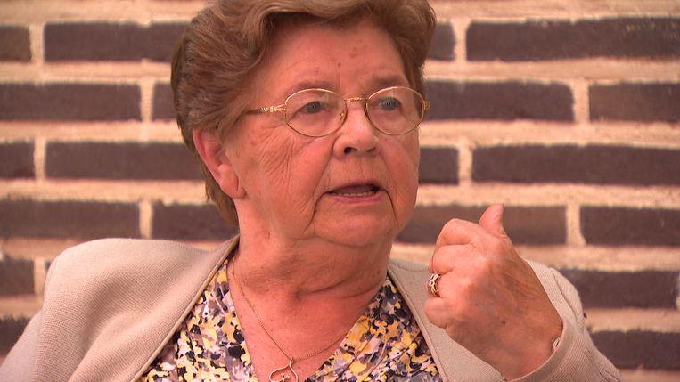 Olga Minnen (85) is de moeder van Kris Van Dijck