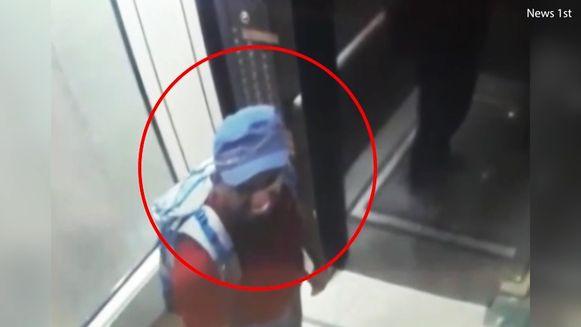 Eén van de zelfmoordterroristen uit Sri Lanka