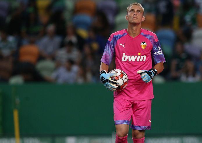 Jasper Cillessen staat sinds deze zomer onder contract bij Valencia.