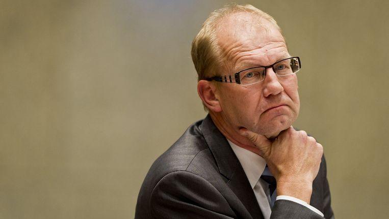 Joop Atsma, staatssecretaris van Infrastructuur en Milieu. Foto © ANP Beeld