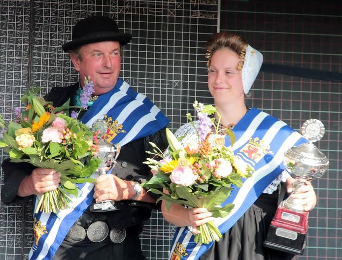 Joyce en Jan Jobse Zeeuws Kampioen Sjezenrijden.