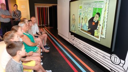 Alsof je zelf een strip binnenwandelt: Suske en Wiske-museum na jaar renovatie klaar voor heropening