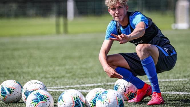 Racing Genk legt 16-jarig jeugdproduct Nolan Martens voor drie jaar vast