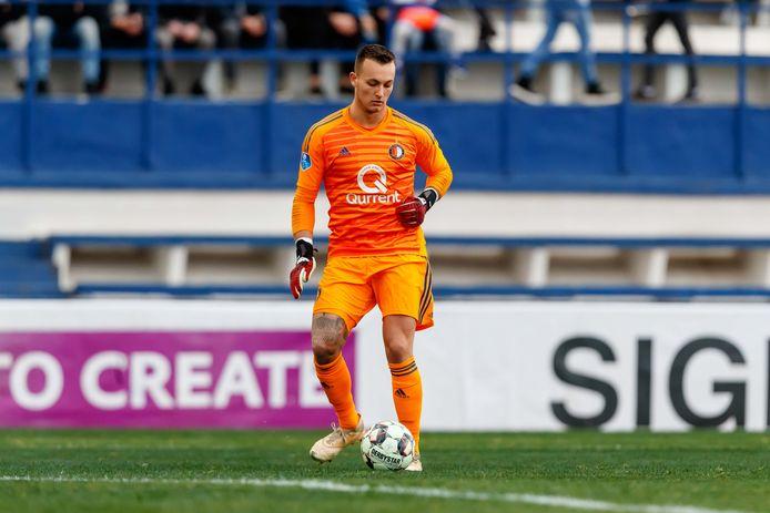 Justin Bijlow viel geblesseerd uit in Zwolle.