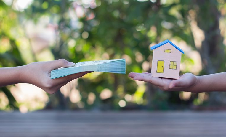 Voor sommige gezinnen is het geen enkel probleem om de helft van het inkomen te besteden aan de afbetaling van de lening