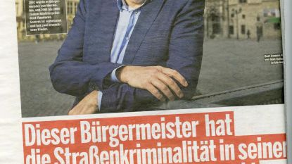 Bart Somers is 'heiss' in Duitsland