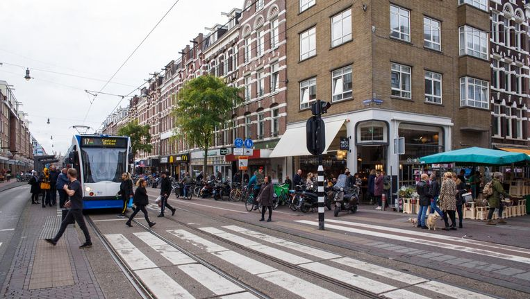 Het straatbeeld verandert en de huizenprijzen schieten omhoog in de Kinkerbuurt Beeld Carly Wollaert