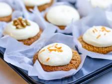 Wat Eten We Vandaag: Wortelmuffins met roomkaasglazuur