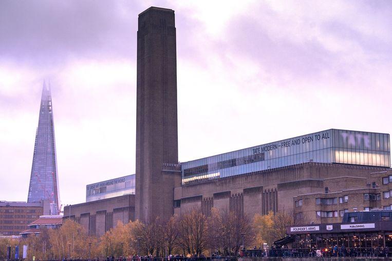 Archiefbeeld van museum Tate Modern.