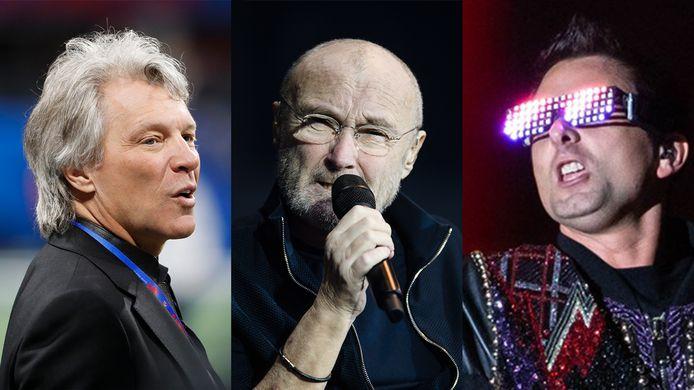 Bon Jovi, Phil Collins en Muse. Deze drie acts spelen de komende weken op de tot festivalterrein omgetoverde Goffertwei.