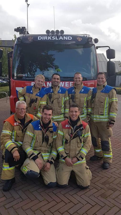 De Dirkslandse brandweer mag ze beste van het land noemen.