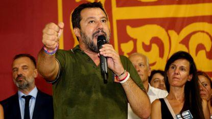Politieke crisis in Italië: Salvini sluit coalitie met Berlusconi uit
