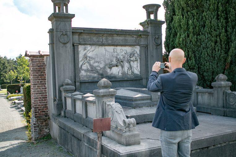 Zondag staat het kerkhof van Temse in de kijker.