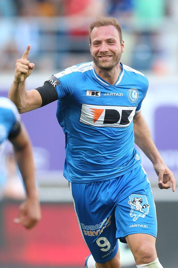 Laurent Depoitre komt terug naar AA Gent