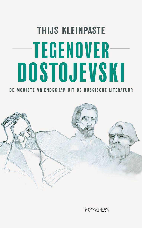 Omslag 'Tegenover Dostojevski' Beeld -