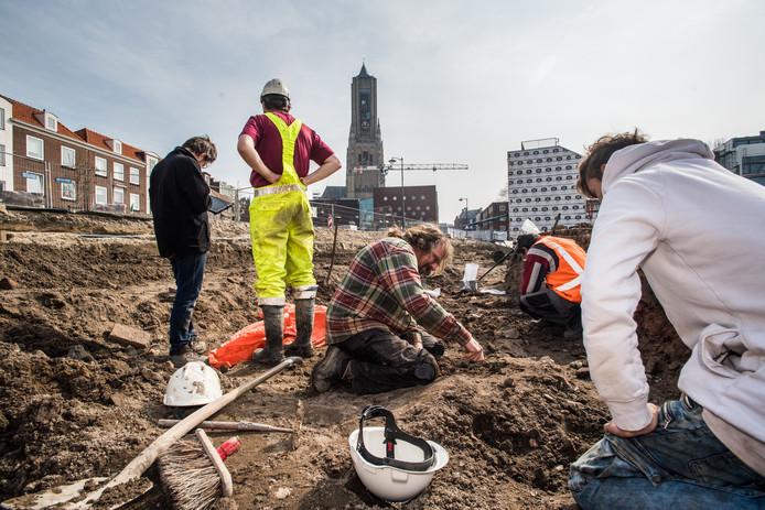 Archeologen leggen stukje bij beetje het verleden bloot.