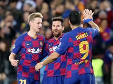 Messi ontbreekt bij Barça tegen Inter, De Jong wel bij selectie