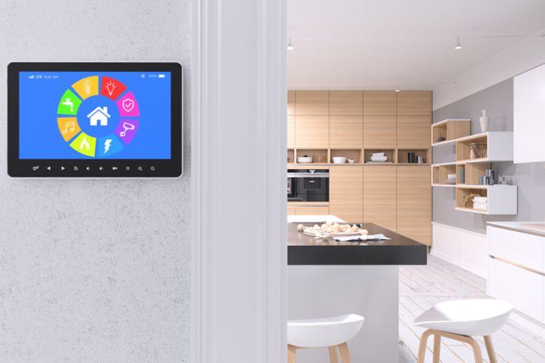 Met een slimme thermostaat koppel je je cv-ketel aan het internet. Via de bijhorende app controleer je vanop afstand eenvoudig met je smartphone of je verwarming aan- of uitstaat.