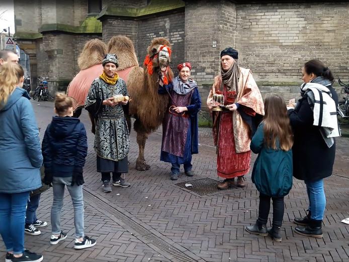 Een sfeerbeeld tijdens een eerdere editie van het Kerst Event in Zwolle.