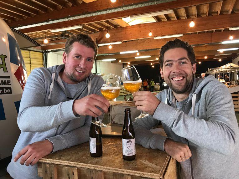 Joachim Rummens en Sjarel Buysschaert van Lokaalmarkt.