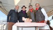 Marc Baetens wint varkenskop op folkloristische Sint-Antoniuskermis