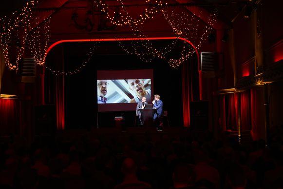 Eerste praatprogramma Cycles Emrin met Sven Nys en Ruben Van Gucht.