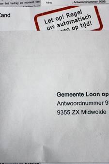 Brief over incasso zaait twijfel in Loon op Zand