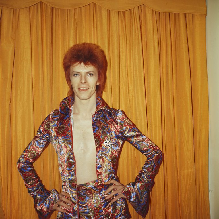 David Bowie in 1973. Beeld Getty