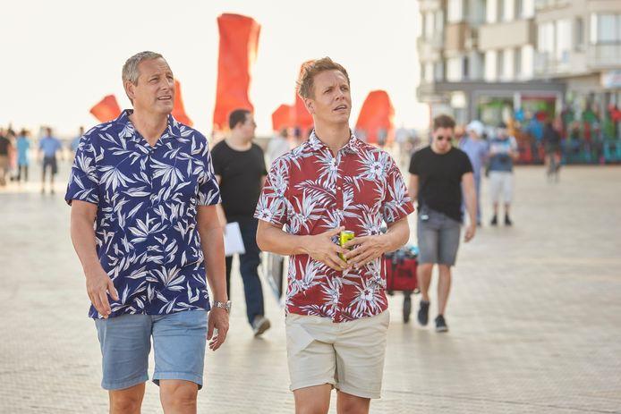 Het is niet de eerste keer dat Gert en James afzakken naar de kust, eerder waren ze te gast in Oostende.