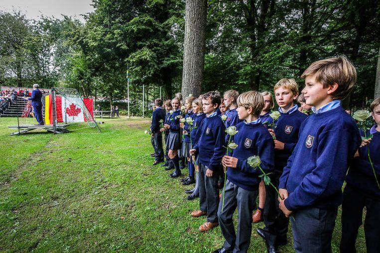 Zevekerke herdenking 75 jaar bevrijding