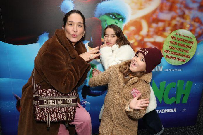 Tiany Kiriloff bracht haar kinderen Yelena en Eloise mee.