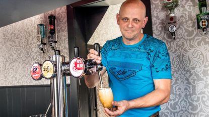 Rudy (45) voortaan achter de tapkraan in De Kroon