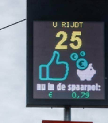 Langzaam rijden in Klein-Zundert levert geld op voor reflecterende huisnummers