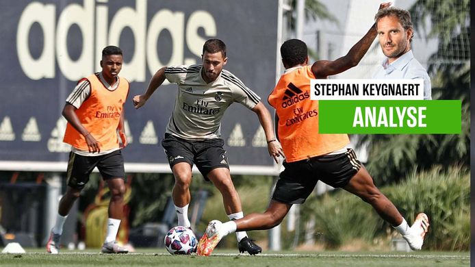 Eden Hazard zit wel gewoon in de selectie, maar toch lijkt hij nog niet uit het sukkelstraatje.