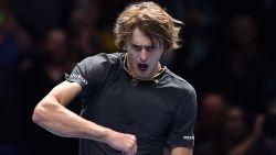 Zverev vervoegt groepswinnaar Djokovic bij laatste vier in ATP Finals - Mertens en Schuurs vormen volgend tennisseizoen geen duo meer