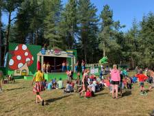 Gorp bij Hilvarenbeek verandert in sprookjesbos tijdens Kindervakantieweek