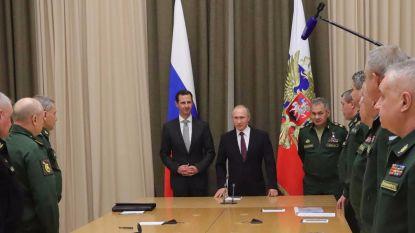 Poetin wil troepen weghalen uit Syrië