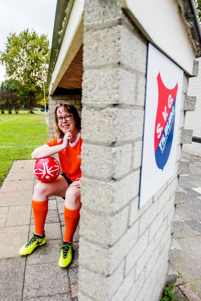 Speelster Suzanne van den Einden is ambassadeur van het internationale toernooi voor G-damesvoetbal dat haar club SVG in mei 2019 organiseert.