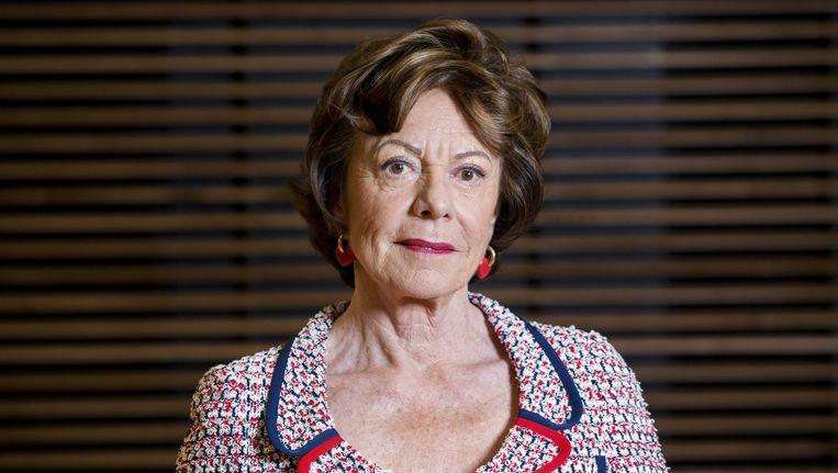 Voormalig eurocommissaris Neelie Kroes wordt ook genoemd in het onderzoek. Zij doet een betaald adviseurschap bij de Amerikaanse zakenbank Bank of America Merrill Lynch. Beeld anp