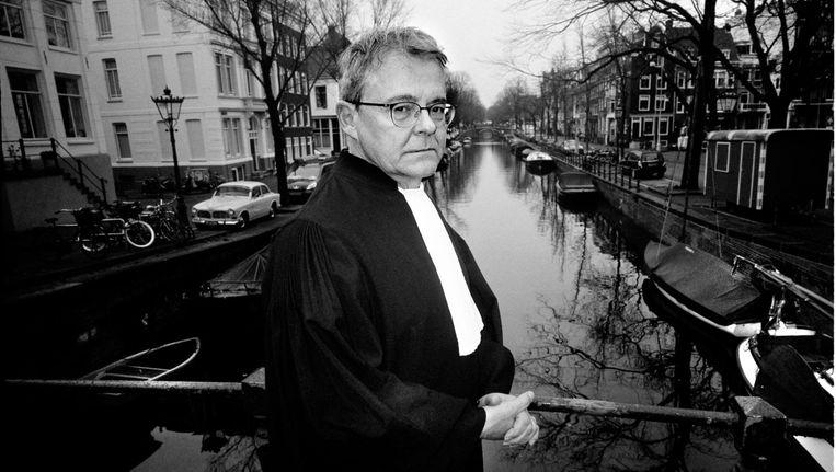 Nico Meijering: 'Brammetje Horlepiep wil terugkomen als advocaat, wist je dat?' Beeld Gerard Wessel