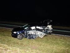 Twee gewonden bij zwaar ongeluk op Grevelingendam