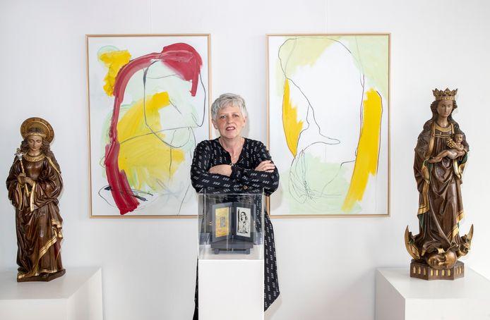 Margot Kikkert exposeert in het Stadsmuseum Rhenen.