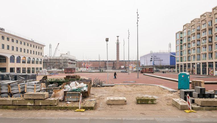 Het Amsterdamse Stadionplein Beeld Tom Janssen